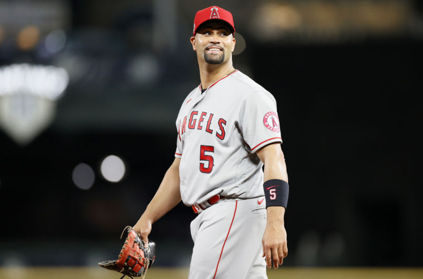 Albert Pujols, Los Angeles Angels (Photo by Steph Chambers/Getty Images)