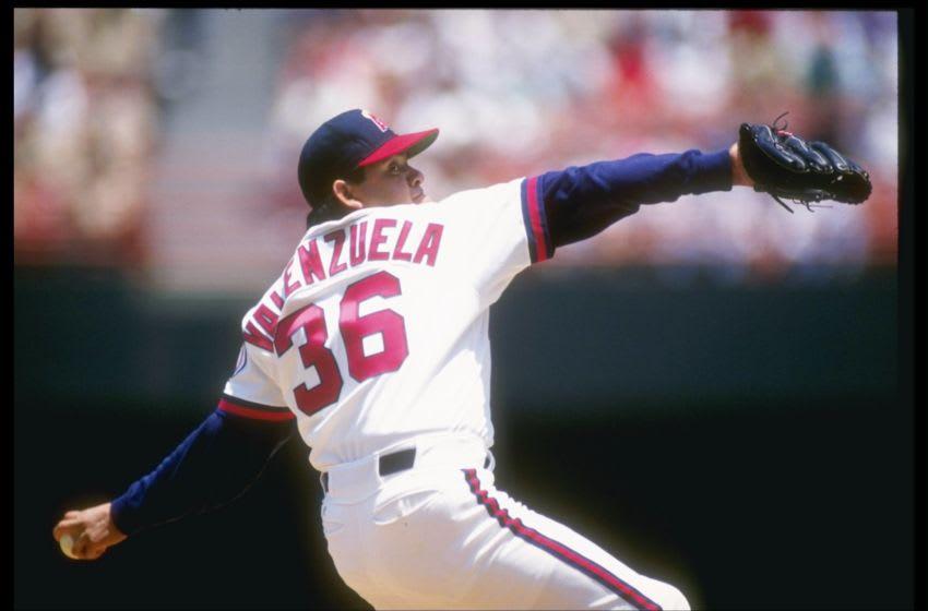 Fernando Valenzuela, (Credit: Stephen Dunn /Allsport)
