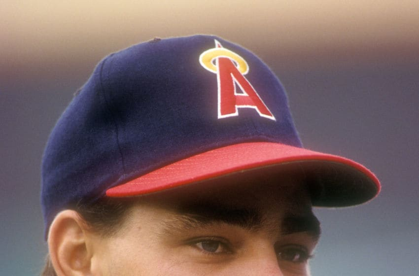 Dante Bichette, Los Angeles Angels, (Photo by Mitchell Layton/Getty Images)