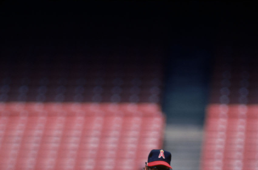 Rick Burleson, Los Angeles Angels, (Photo by Rich Pilling/MLB Photos via Getty Images)