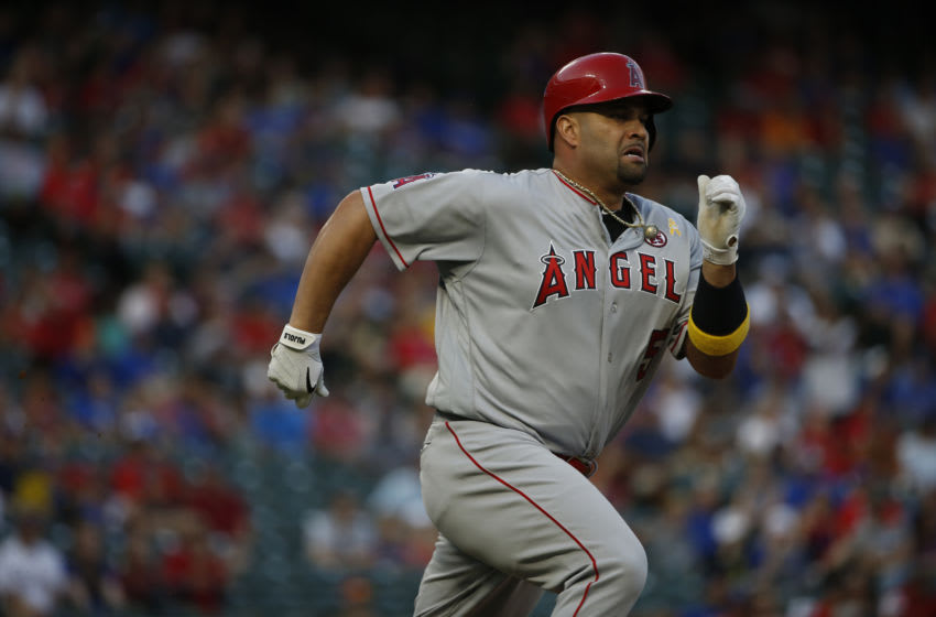 Albert Pujols, Los Angeles Angels (Photo by Ron Jenkins/Getty Images)