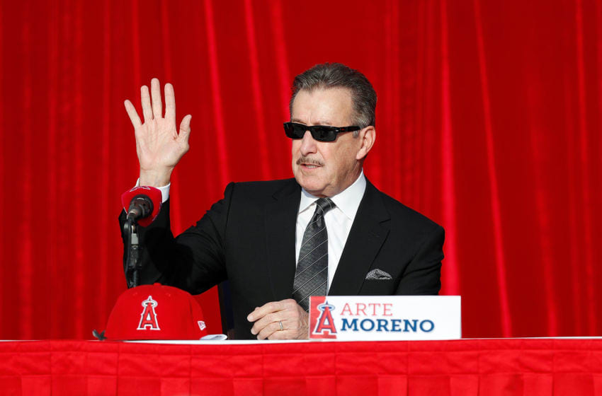 Los Angeles Angels, Arte Moreno (Photo by Josh Lefkowitz/Getty Images)