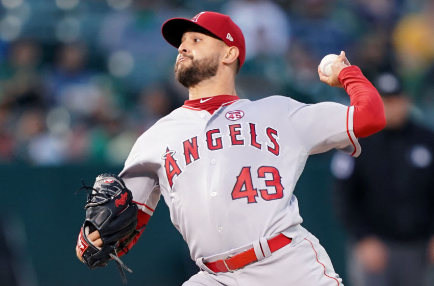 Patrick Sandoval. Los Angeles Angels (Photo by Thearon W. Henderson/Getty Images)