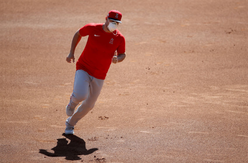 Mike Trout, Los Angeles Angels (Photo by Sean M. Haffey/Getty Images)