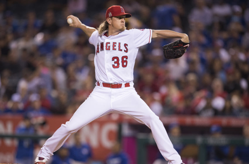 Jered Weaver, Los Angeles Angels (Photo by Matt Brown/Angels Baseball LP/Getty Images)