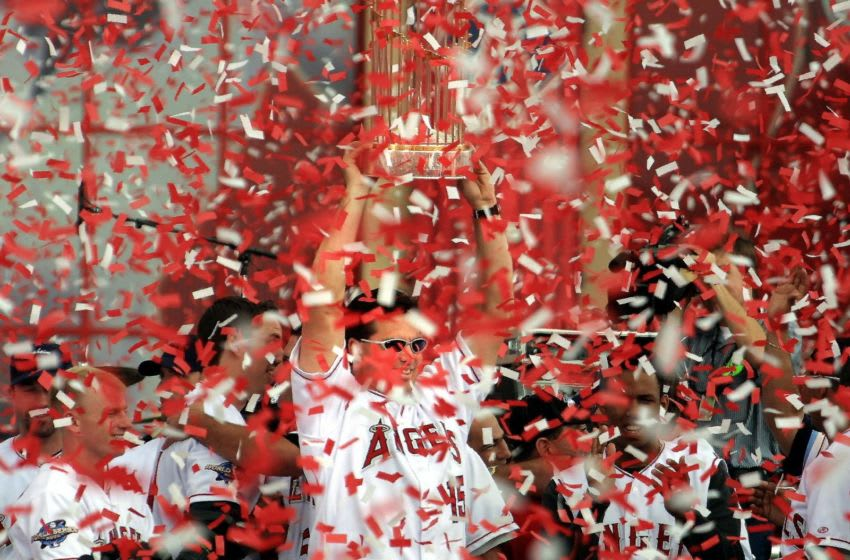 World Series Champion Anaheim Angels (LEE CELANO/AFP via Getty Images)