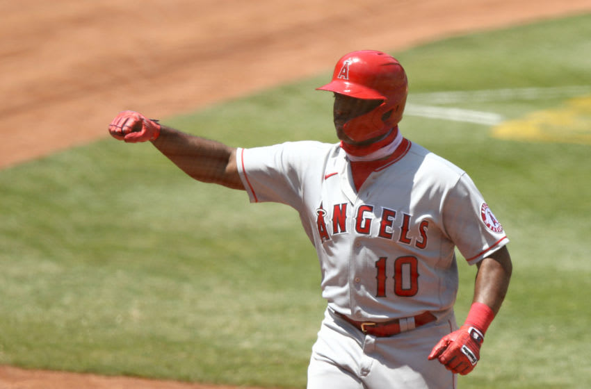 Justin Upton, Los Angeles Angels (Photo by Ezra Shaw/Getty Images)