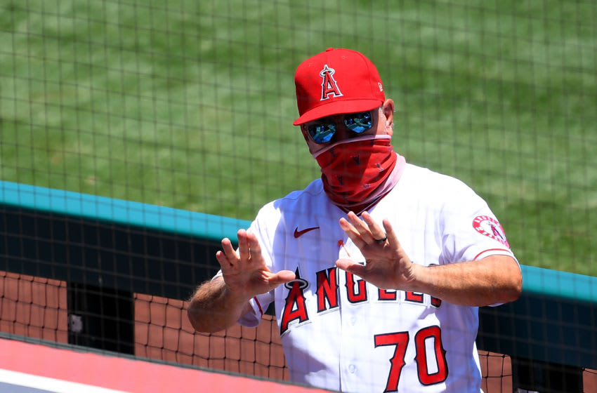 Joe Maddon, Los Angeles Angels (Photo by Jayne Kamin-Oncea/Getty Images)