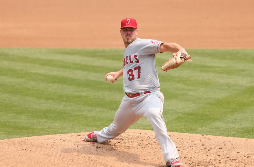 Dylan Bundy. Los Angeles Angels (Photo by Ezra Shaw/Getty Images)