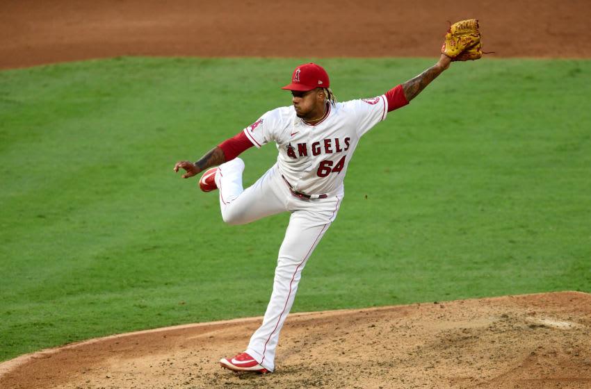 Felix Peña, Los Angeles Angels (Photo by Jayne Kamin-Oncea/Getty Images)