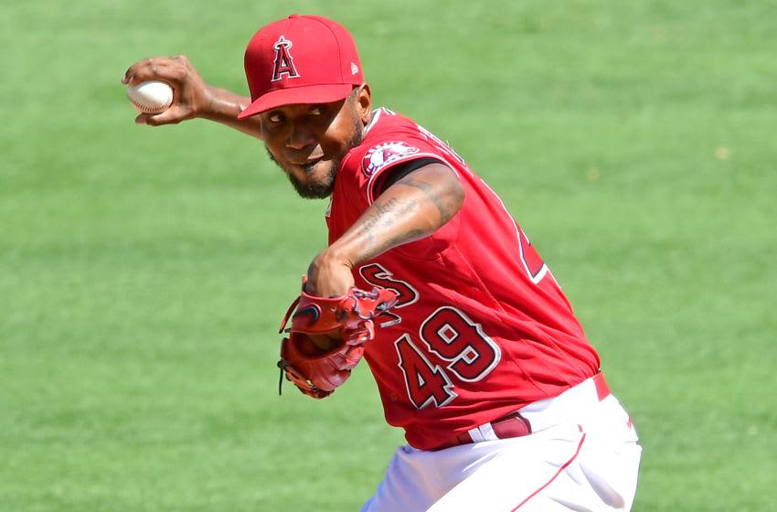 Julio Teheran, Los Angeles Angels (Photo by Jayne Kamin-Oncea/Getty Images)