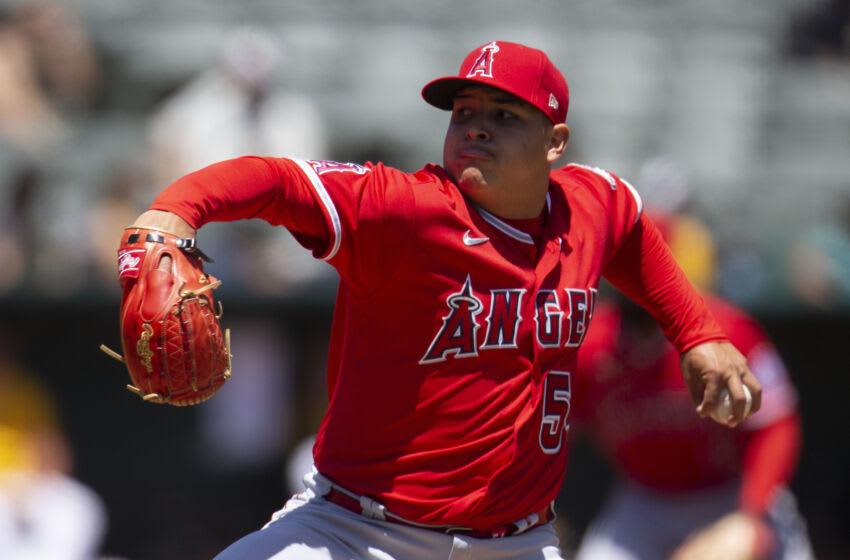 Jose Suarez, LA Angels. Mandatory Credit: D. Ross Cameron-USA TODAY Sports
