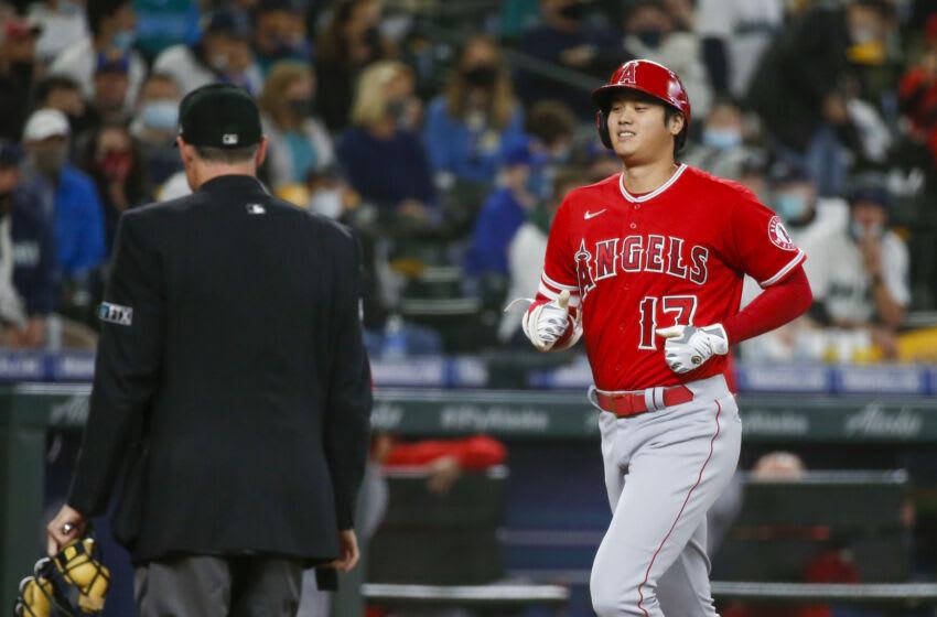 Shohei Ohtani, LA Angels. Mandatory Credit: Joe Nicholson-USA TODAY Sports