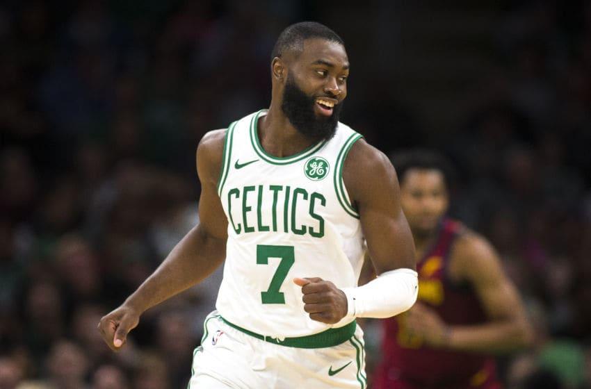 Boston Celtics (Photo by Nic Antaya for The Boston Globe via Getty Images)