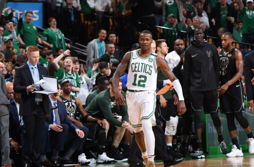 Boston Celtic guard Terry Rozier has proven his ability to hit the big shots in the clutch. (Photo by Brian Babineau/NBAE via Getty Images)