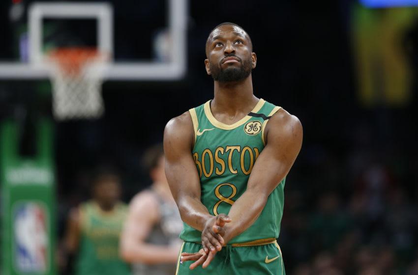 Mar 3, 2020; Boston, Massachusetts, USA; Boston Celtics Mandatory Credit: Greg M. Cooper-USA TODAY Sports