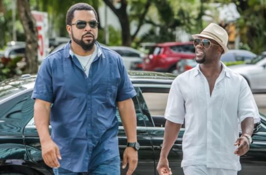 Kevin Hart and Ice Cube in Ride Along 2. Photo credit: Universal
