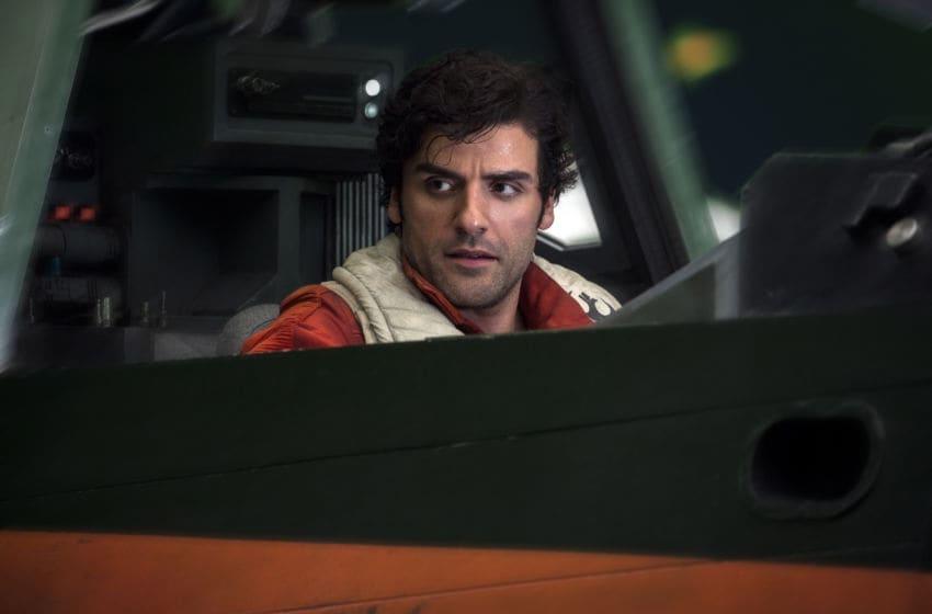 Star Wars: The Last Jedi..Poe Dameron (Oscar Isaac)..Photo: Jonathan Olley, Lucasfilm Ltd. via IMG Press