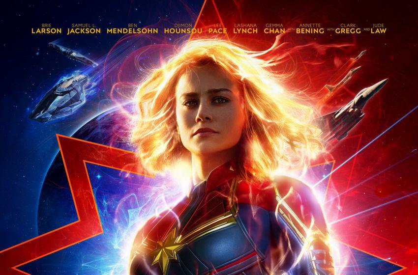 Captain Marvel poster, courtesy Relayit PR, Disney Web Files