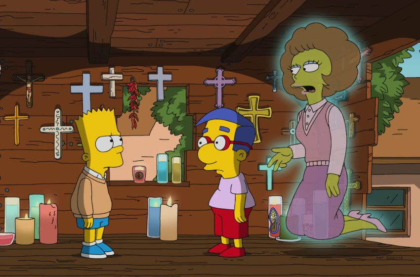 THE SIMPSONS: After getting struck by lightning, Bart receives visits from ghosts, who want closure only he can provide in the all-new ÒFlandersÕ LadderÓ season finale episode of THE SIMPSONS airing Sunday, May 20 (8:00-8:30 PM ET/PT) on FOX. THE SIMPSONS ª and © 2018 TCFFC ALL RIGHTS RESERVED.