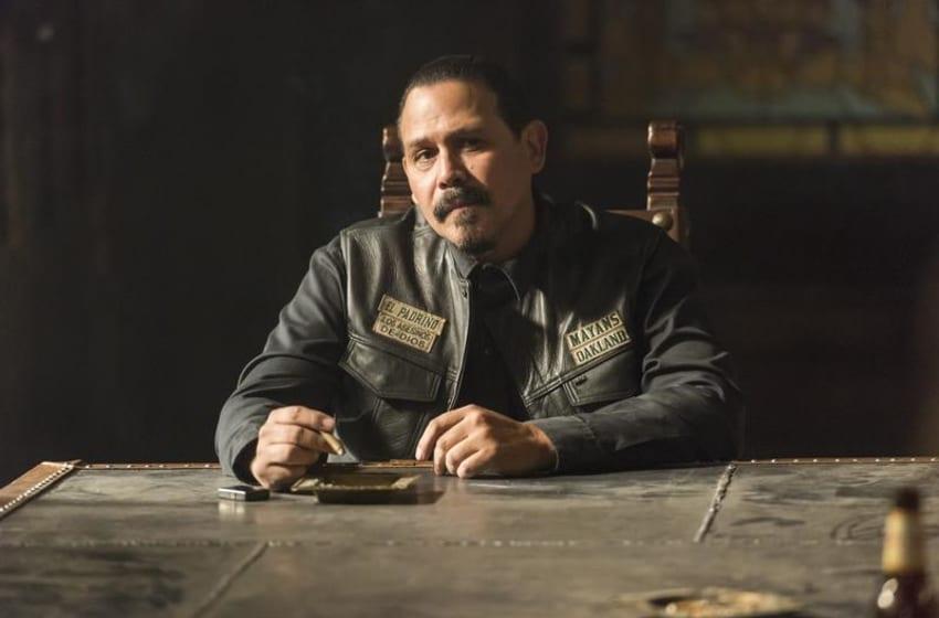 MAYANS M.C. -- Pictured: Emilio Rivera as Marcus Alvarez. CR: Prashant Gupta/FX