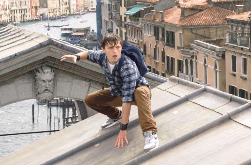 Spider-Man: Far From Home photo via EPK Sony