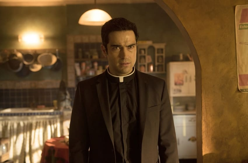 THE EXORCIST: Alfonso Herrera in the