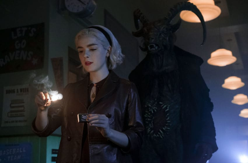 CHILLING ADVENTURES OF SABRINA -- Jeff Weddell/Netflix -- Acquired via Netflix Media Center