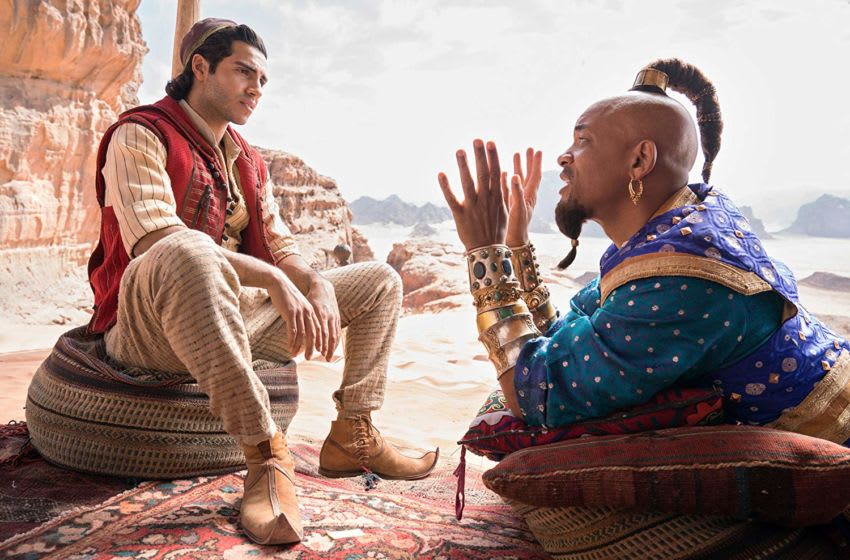 Will Smith and Mena Massoud in Disney's Aladdin / Photo Credit: Walt Disney Studios Motion Pictures