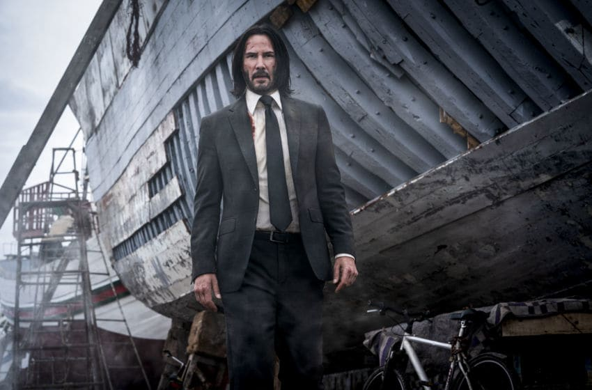 Keanu Reeves stars as 'John Wick' in JOHN WICK: CHAPTER 3 - PARABELLUM. Photo Credit: Mark Rogers.
