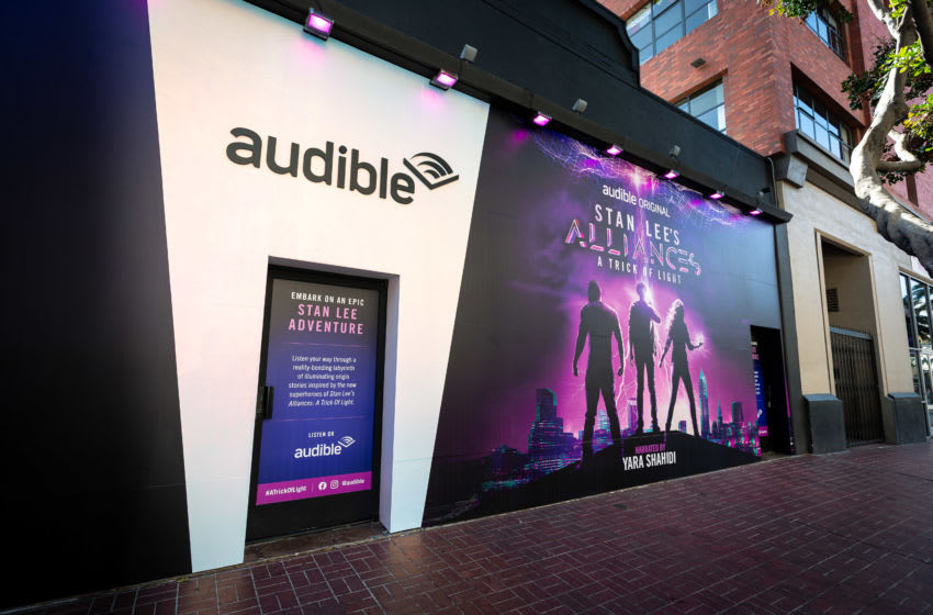 Photo credit: Audible, acquired from Civic Entertainment Group