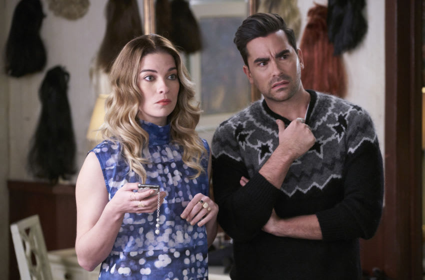 Photo: Schitt's Creek/Pop TV.. Acquired via Pop TV Press site
