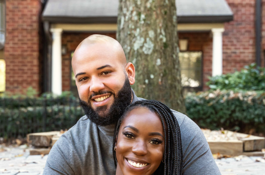 Vincent & Briana star in Season 12 of Married at First Sight, airing Wednesday nights at 8/7c on Lifetime. Photo by Courtesy of Lifetime Copyright 2021