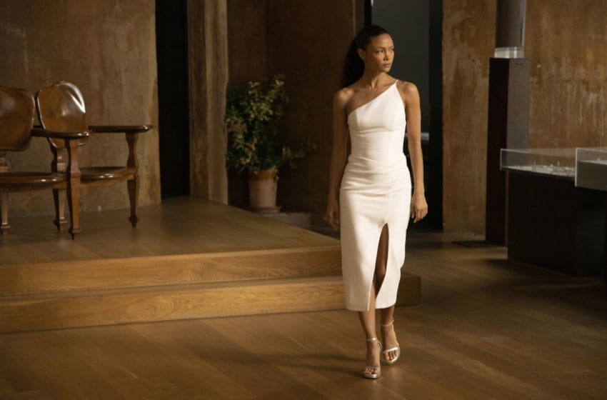 Thandie Newton in Westworld Season 3.. Photograph by John P. Johnson/HBO