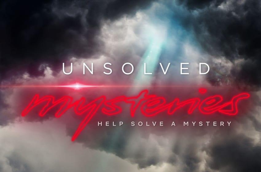 Unsolved Mysteries key art. (Photo Credit: Courtesy of Netflix.)