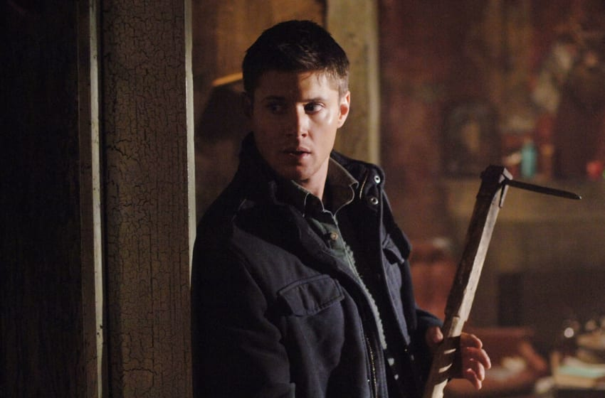 Supernatural 'The Benders' (Episode #114) Image #SN114-0413 Pictured: Jensen Ackles as Dean Winchester Credit: ©The WB / Sergei Bachlakov