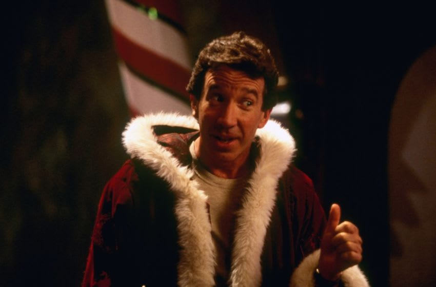THE SANTA CLAUSE - Tim Allen provides answers -- warm and funny answers -- to some of the world's most vexing questions: How can Santa come down your chimney if you don't have a fireplace? How does he get to every house in the world in just one night? And how do you get a job like that, anyway? (DISNEY/ATTILA DORY) TIM ALLEN