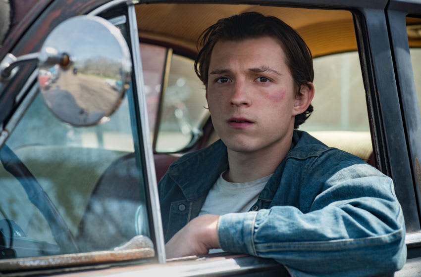 The Devil All The Time: Tom Holland as Arvin Russell. Photo Cr. Glen Wilson/Netflix © 2020