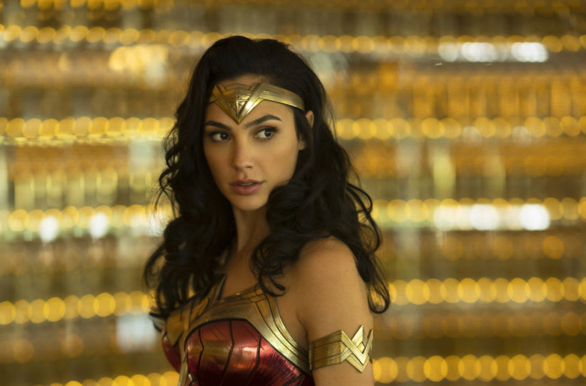 """GAL GADOT as Wonder Woman in the action adventure """"WONDER WOMAN 1984,"""" a Warner Bros. Pictures release.. Photo Credit: Clay Enos/ ™ & © DC Comics"""