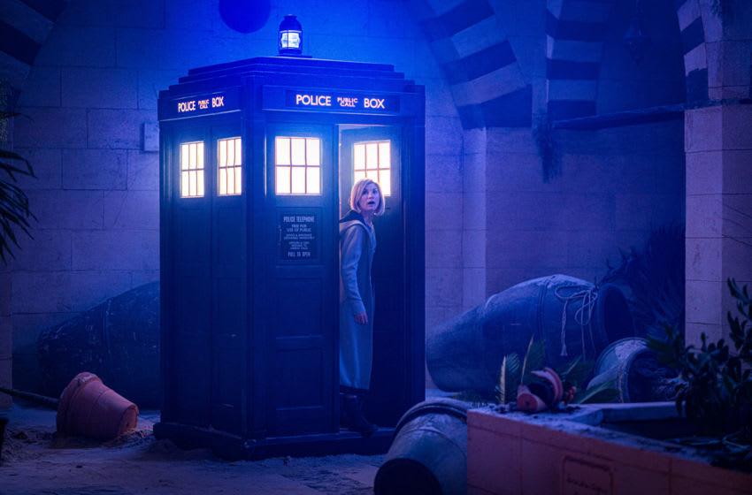 Jodie Whittaker as The Doctor - Doctor Who _ Season 12, Episode 7 - Photo Credit: Ben Blackall/BBC Studios/BBC America