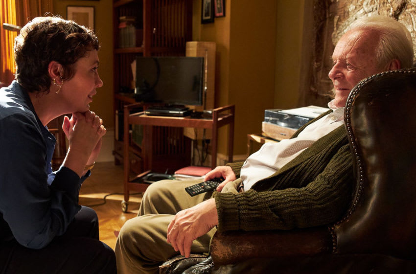 Photo: Olivia Colman and Anthony Hopkins star in The Father.. Image Courtesy Trademark Films, Cine@