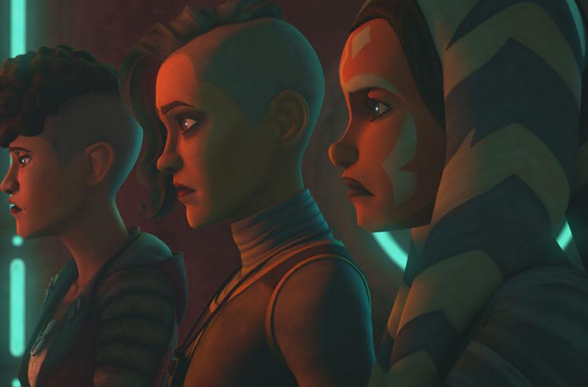 "Photo: Star Wars: The Clone Wars Episode 707 ""Dangerous Debt .. Image Courtesy Disney+"