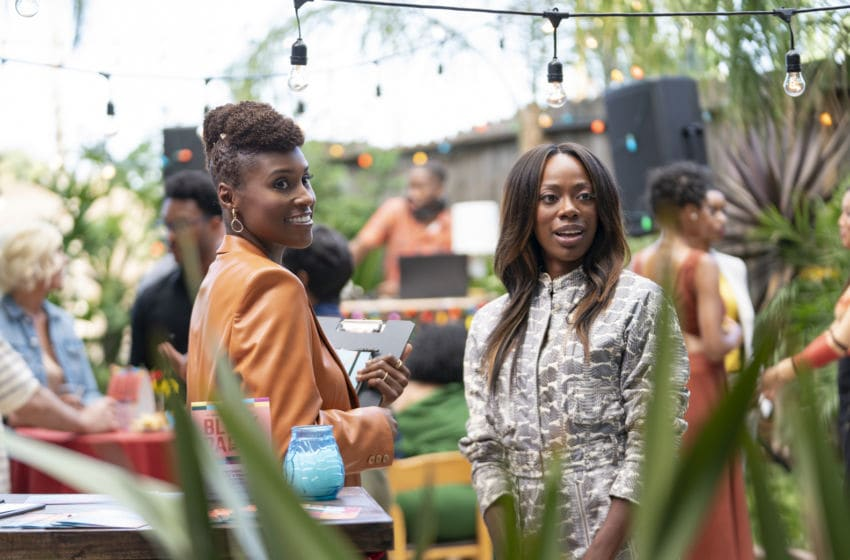 Insecure on HBO, photo courtesy Merie Weismiller Wallace, HBO