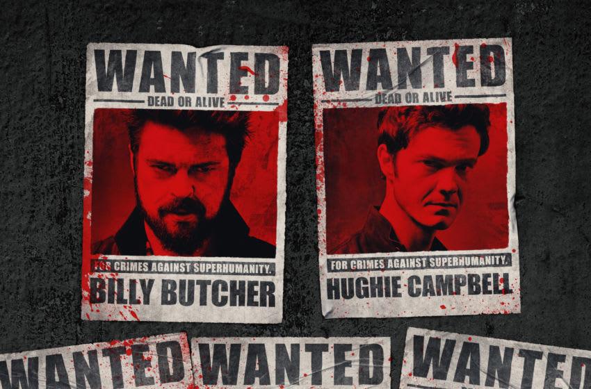 The Boys season 2 Wanted Poster teaser art. Image courtesy Amazon Prime Video