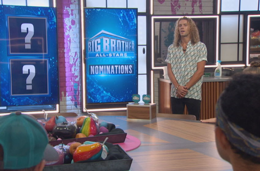 Season 22 of BIG BROTHER ALL-STARS follows a group of people living together in a house outfitted with 94 HD cameras and 113 microphones, recording their every move 24 hours a day. Each week, someone will be voted out of the house, with the last remaining Houseguest receiving the grand prize of $500,000. Airdate: August 23, 2020 (8:00-9:00PM, ET/PT) on the CBS Television Network Pictured: Tyler Crispen Photo: Best Possible Screen Grab/CBS 2020 CBS Broadcasting, Inc. All Rights Reserved