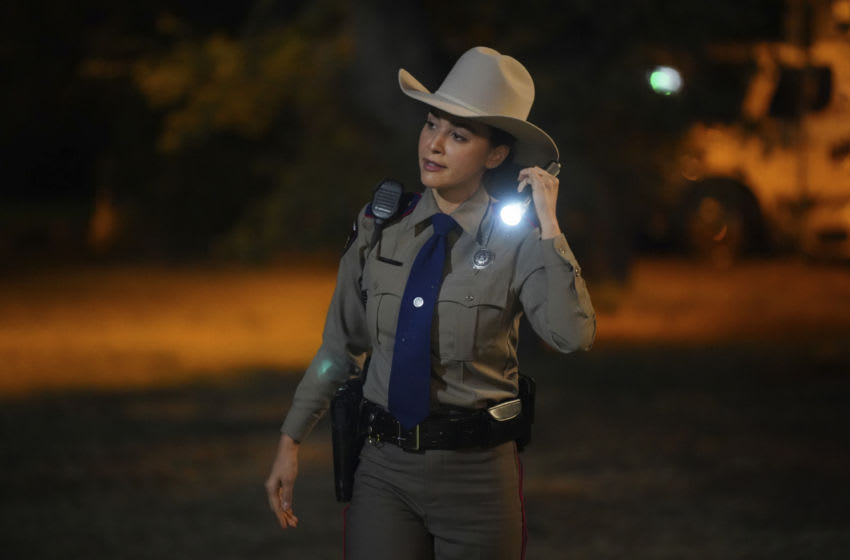 """Walker -- """"Pilot"""" -- Image Number: WLK101a_0140r -- Pictured: Lindsey Morgan as Micki Ramirez -- Photo: Rebecca Brenneman/The CW -- © 2021 The CW Network, LLC. All Rights Reserved."""