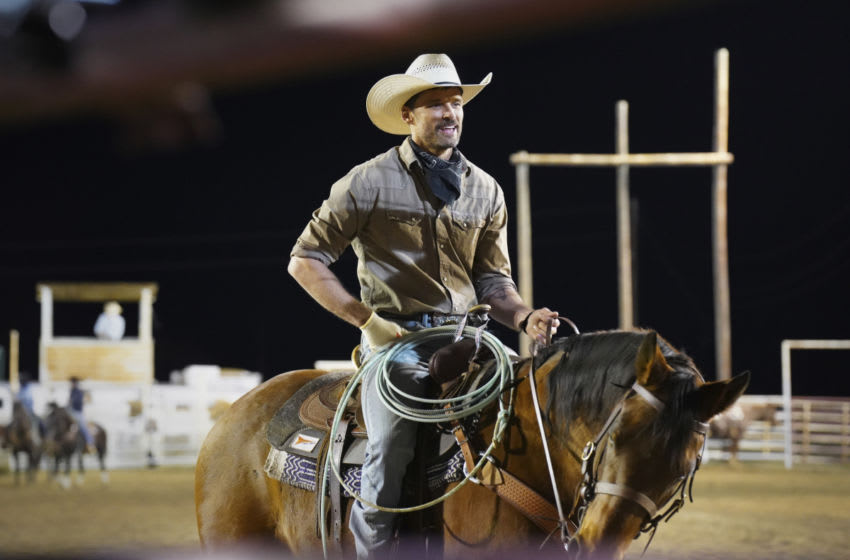 """Walker -- """"Duke"""" -- Image Number: WLK105b_0954r -- Pictured: Austin Nichols as Clint West -- Photo: Rebecca Brenneman/The CW -- © 2021 The CW Network, LLC. All Rights Reserved."""