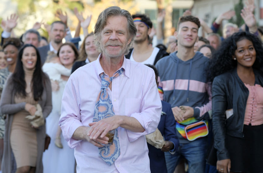 William H. Macy as Frank Gallagher in SHAMELESS,