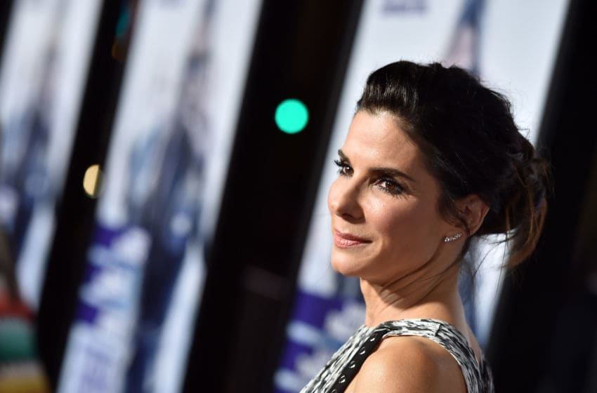 HOLLYWOOD, CA - OCTOBER 26: Actress Sandra Bullock attends the premiere of Warner Bros. Pictures'