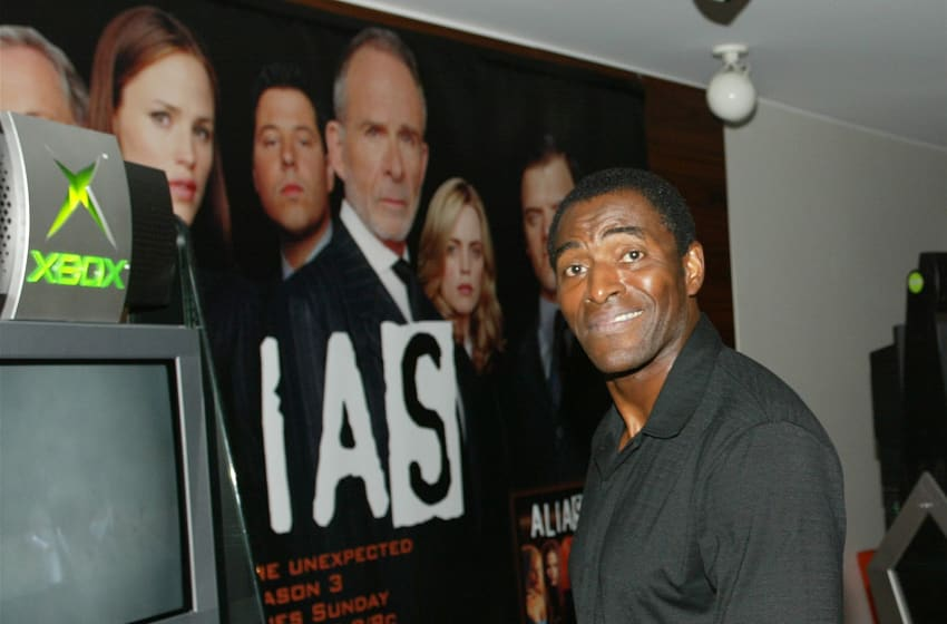 HOLLYWOOD - AUGUST 26: Actor Carl Lumbly attends the Videogame Party for the television show